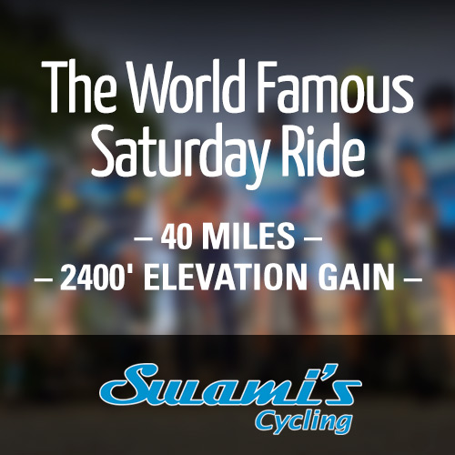 The World Famous Swami's Saturday Ride