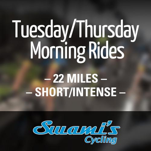 Tuesday/Thursday Morning Rides