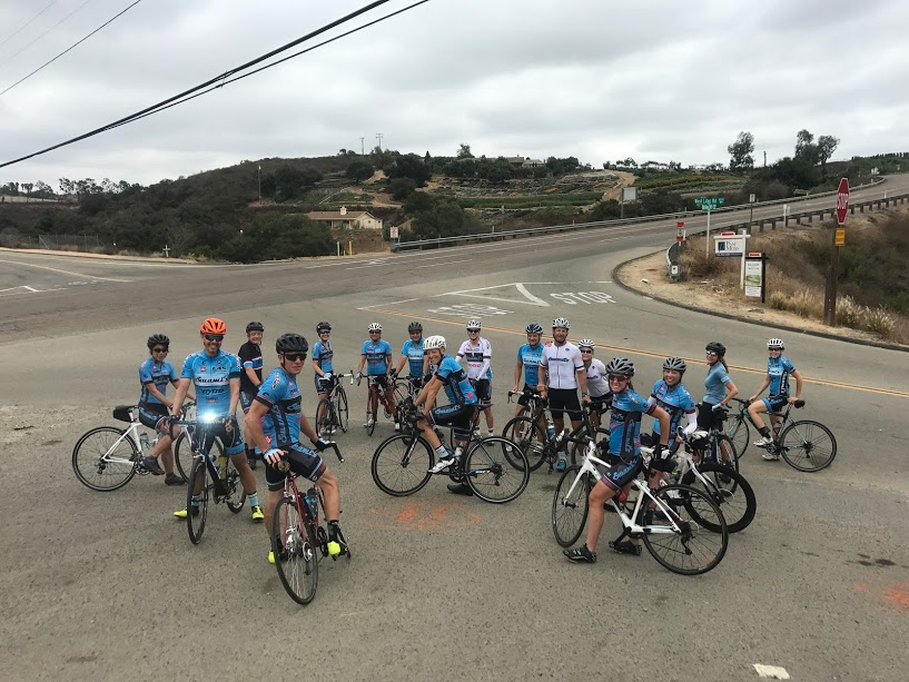 Swami's Swamdo Training Series Ride in Bonsall.